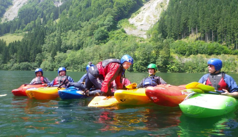 Beginnerscursus wildwater Wildalpen
