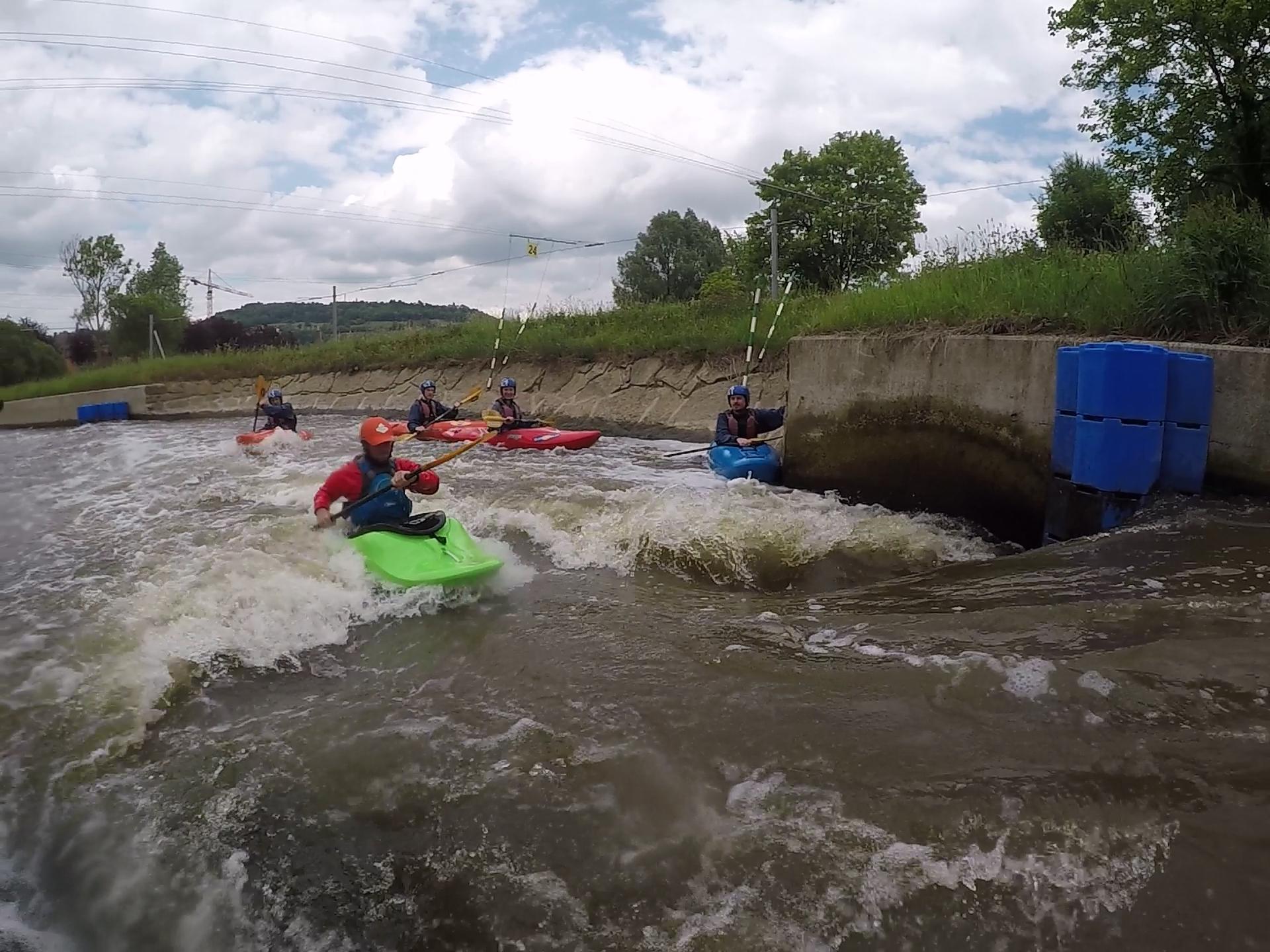 Wildwater weekend Diekirch