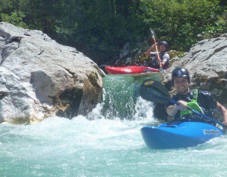 Wildwatervakantie Slovenie