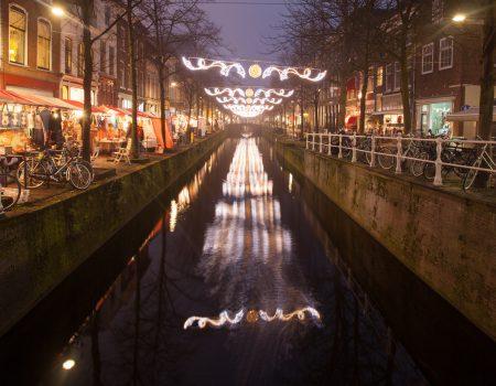 kano & kajak tocht lichtjesavond Delft